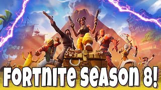 Fortnite Season 8 Battle Pass Grinding! Can We Get a Win?