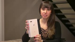 iPhone 8 Plus Dourado Abrindo a Caixa (unboxing)