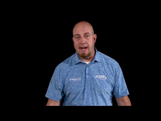 TimberTech® AZEK® Decking Install Introduction