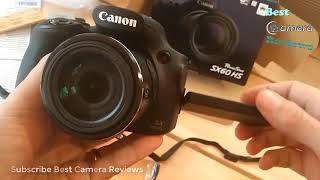 Canon PowerShot SX60 HS Hands On Reviews