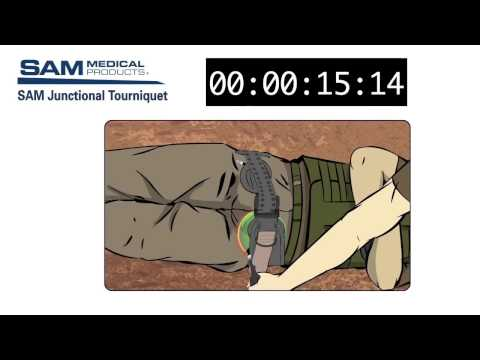 SAM Junctional Tourniquet SJT Training Video - Inguinal and Axilla Hemorrhage Control 1