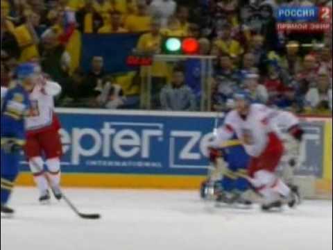 Спорт: Хоккей, ЧМ, 1/4 финала, Швеция - Россия: видео