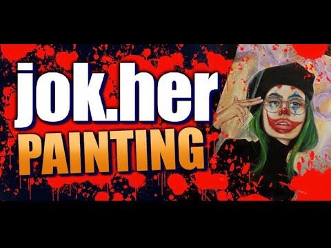 JOK.HER Painting | *Start to Finish* | tutorial thumbnail