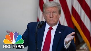 Live: Trump Holds Press Briefing on Coronavirus Testing | NBC News