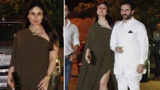 Pregnant Kareena Kapoor at aunt Rima Jains 60th BIRTHDAY BASH