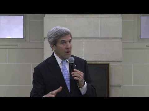 FRANCE w/CC: 12-9-16. Secretary Kerry's Remarks From The U.S. Embassy in Paris.