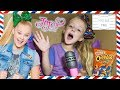 I Mailed Myself in a Box as Fan Mail to JoJo Siwa! OMG It Worked! I Can't Sing Boomerang Song (Skit)