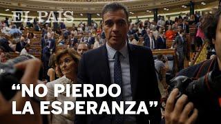 SÁNCHEZ NO LOGRA LA INVESTIDURA EN LA PRIMERA VOTACIÓN