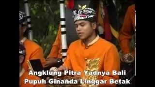 Video Angklung Pitra Yadnya Bali  Pupuh Ginanda Linggar Petak mp3 download MP3, 3GP, MP4, WEBM, AVI, FLV Juni 2018