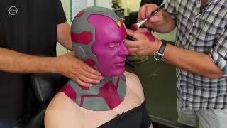 Мстители Война Бесконечности. Актеры до и после макияжа !!!