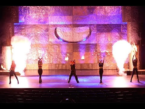 Inferno brings magic and pyrotechnics to the Paris hotel-casino in Las Vegas