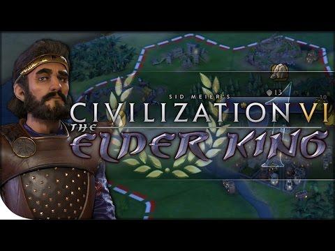Persia Gameplay, Spring Update, & CULTURE BLITZ | Civilization VI — The Elder King 1 | Fractal King
