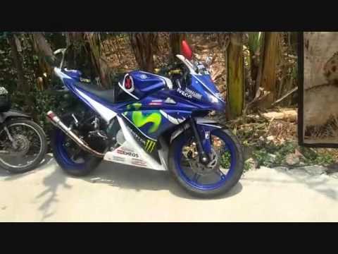 Modifikasi Vixion Old Yamaha Movistar R150 Youtube