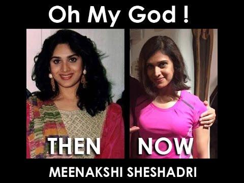 Meenakshi Sheshadri : Then and Now !