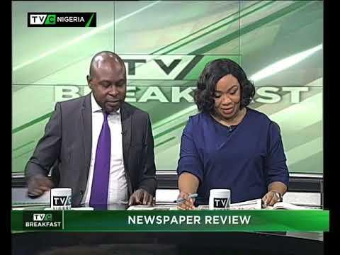 TVC Breakfast September 22nd | Newspaper Review
