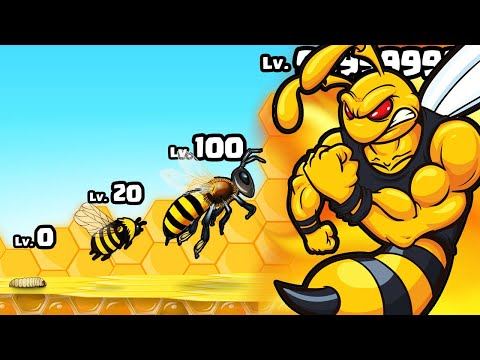 HATCHING the STRONGEST BEE COLONY in Pocket Bees: Colony Simulator |