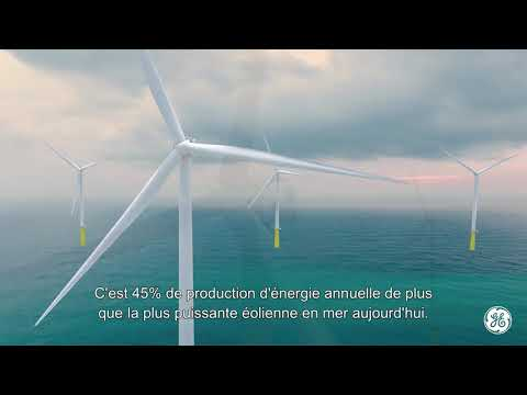 Haliade-X | La plus grande éolienne offshore au monde | GE Renewable Energy