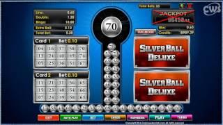 Bingo Silverball Deluxe - Arcade Bingo Game - CasinoWebScripts