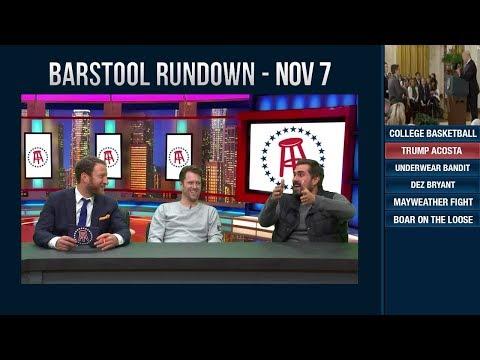 Barstool Rundown - November 7, 2018