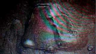 Mars Cydonia Crater space capsule terraform? from Mars Express Hd photo European Space Agency photo