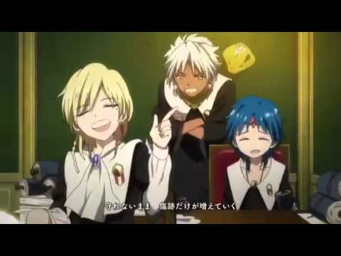 Magi: The Kingdom of Magic -- Opening 2: 光~Hikari~ by ViViD