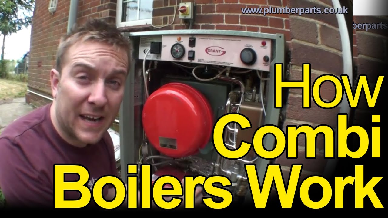 How Combi Boilers Work Plumbing Tips Youtube Heating Zone Valve Wiring Diagram