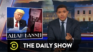 Download President Trump's Muslim-Targeted Travel Ban: The Daily Show Mp3 and Videos