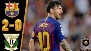 Barcelona vs leganes 5-0 all goals & extended highlights