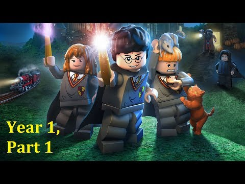 LEGO Harry Potter (PS4) Playthrough (P1) - YouTube