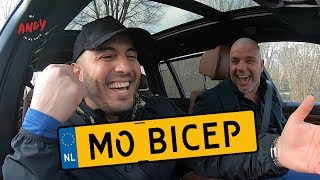Mo Bicep part 2 - Bij Andy in de auto! (English subtitles)
