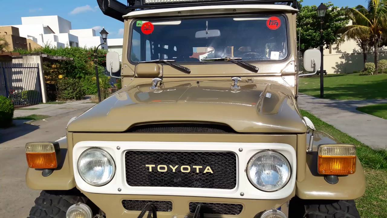 Santa Cruz Toyota >> Toyota Land Cruiser Fj40 1984 Santa Cruz Bolivia El Abuelo Youtube