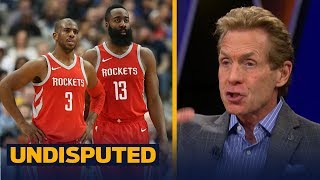 Skip Bayless on Houston defeating Portland, not buying Rockets as title contenders | UNDISPUTED