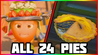 ALL 24 PIE LOCATIONS | Plants vs Zombies Battle For Neighborville