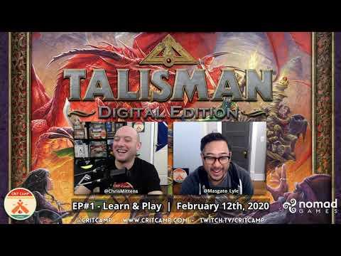 Talisman Digital Edition EP1 - Learn & Play! - Crit Camp