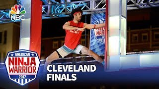 Jon Alexis Jr. at the Cleveland Finals - American Ninja Warrior 2017