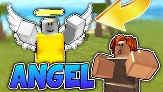 ANGEL INVADES BOOGA BOOGA!! (Roblox Booga Booga)