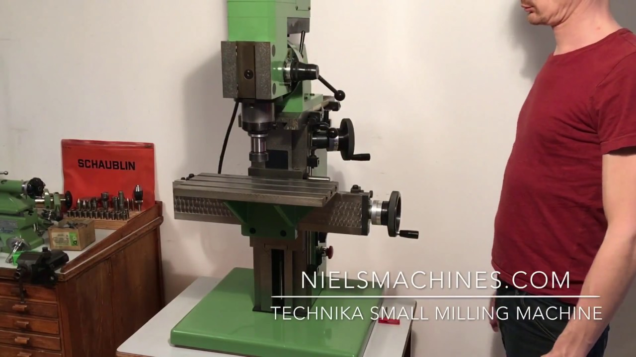 Technika Small Milling Machine Doovi