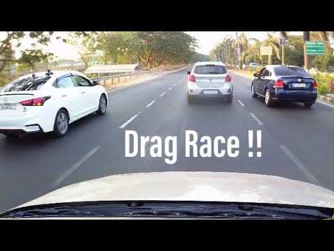 Hyundai Verna VS Ford Figo Vs Vento Tsi VS Tdi | Drag Race |