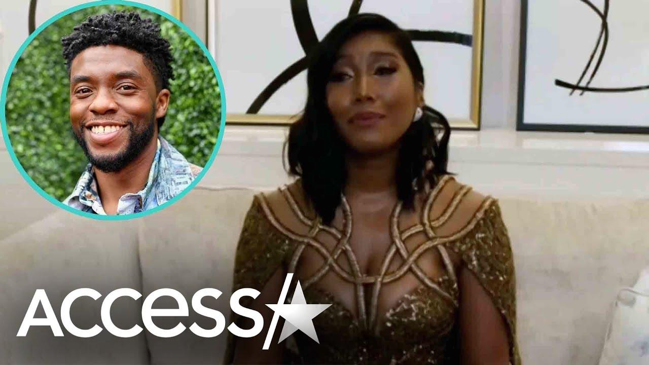 Chadwick Boseman's Wife In Tears For Golden Globes Speech