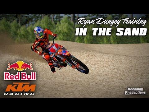 Mx Simulator | Ryan Dungey Training in The Sand