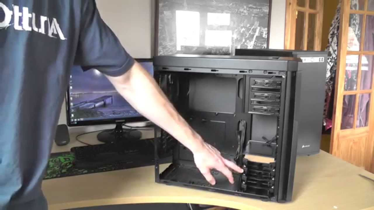 sale retailer b182e efba9 Corsair 330R Mid Tower Case - Unboxing and First Look [HD]