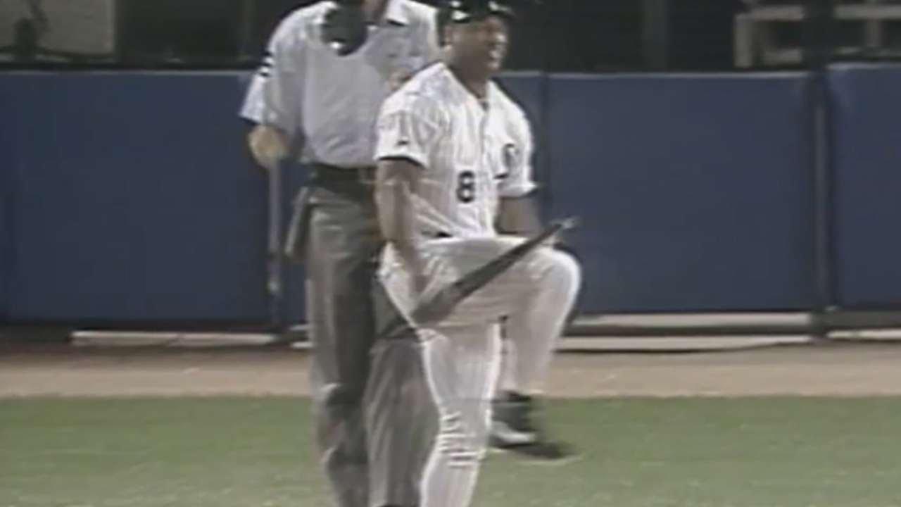 Sox Unveil Bo Jackson Bat Snapping Bobblehead