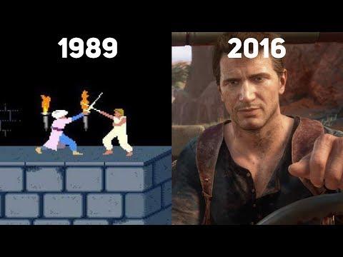 Как менялась игровая