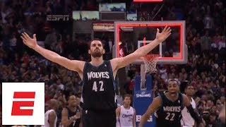 Kevin Love Timberwolves Highlights: 31 rebounds vs. Knicks, 51 points vs. Thunder and more | ESPN