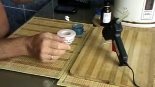 Пивная кега,переделанная для браги с гидрозатвором для многоразового пользования(, 2015-07-01T07:54:41.000Z)