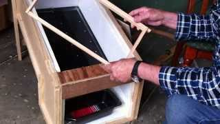 Solar Wax Melter  - Youtube