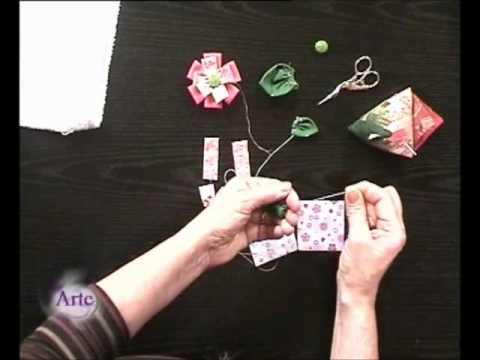 tutorial origami tela