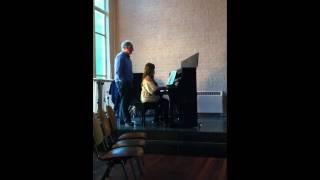 Andante uit de sonate in g kleine terts L. van Beethoven