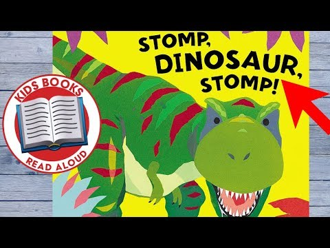 Stomp Dinosaur Stomp   Books for Toddlers Read Aloud