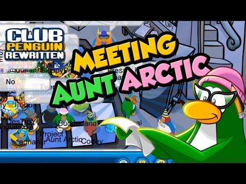 WOW! MEETING AUNT ARCTIC ON Club Penguin Rewritten